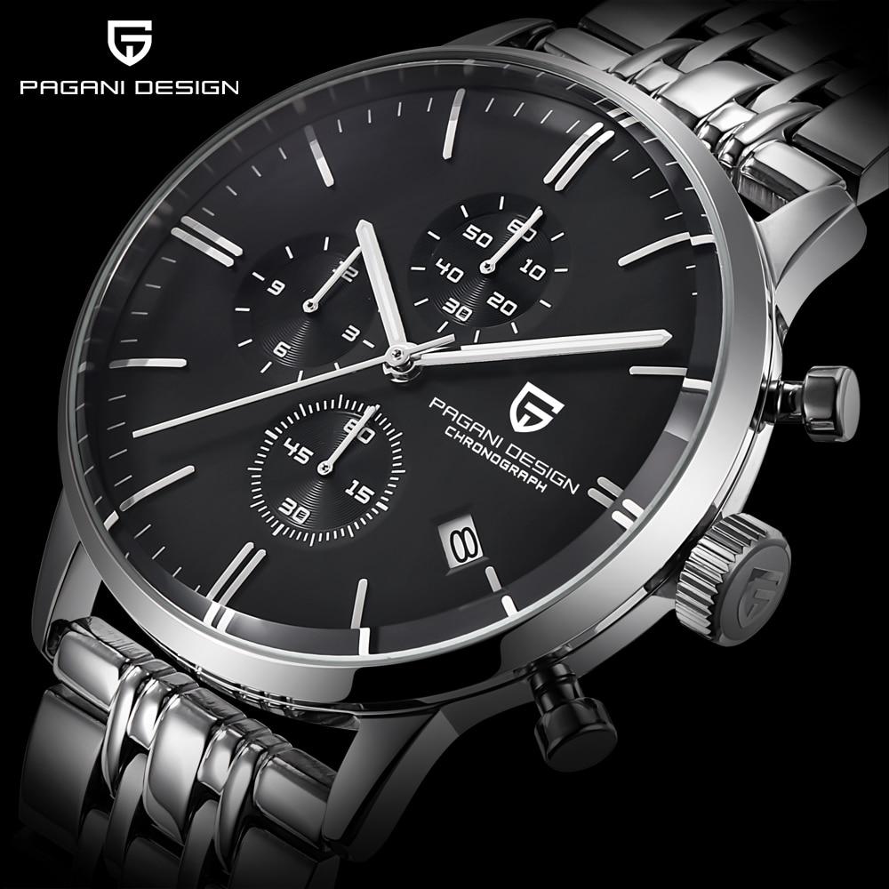 Mens Watches Top Brand Luxury Waterproof 30M Genuine Leather Sport Military Quartz Watches Men Clock Relogio