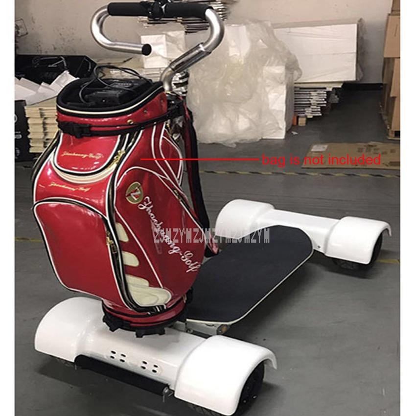Parcours de Golf populaire quatre roues planche à roulettes électrique Double entraînement 1000W * 2 Scooter Intelligent planche à roulettes professionnel pour Golf