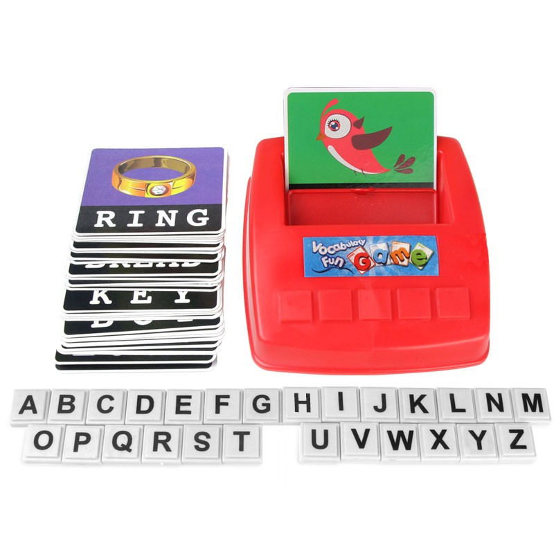Learned Early Childhood Educational English Enlightenment Teaching Toys Fun Reading Picture Alphabet Remember Words Parent-child Game Home