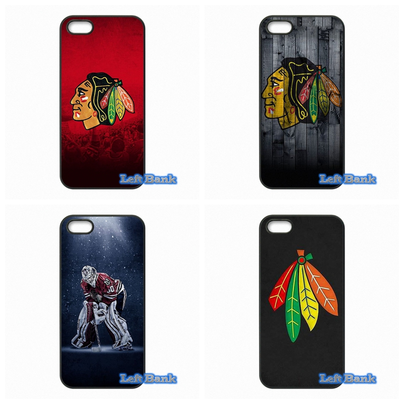 Chicago Blackhawks NHL Hocky Phone Cases Cover For Apple iPhone 4 4S 5 5C SE 6 6S 7 Plus 4.7 5.5 iPod Touch 4 5 6