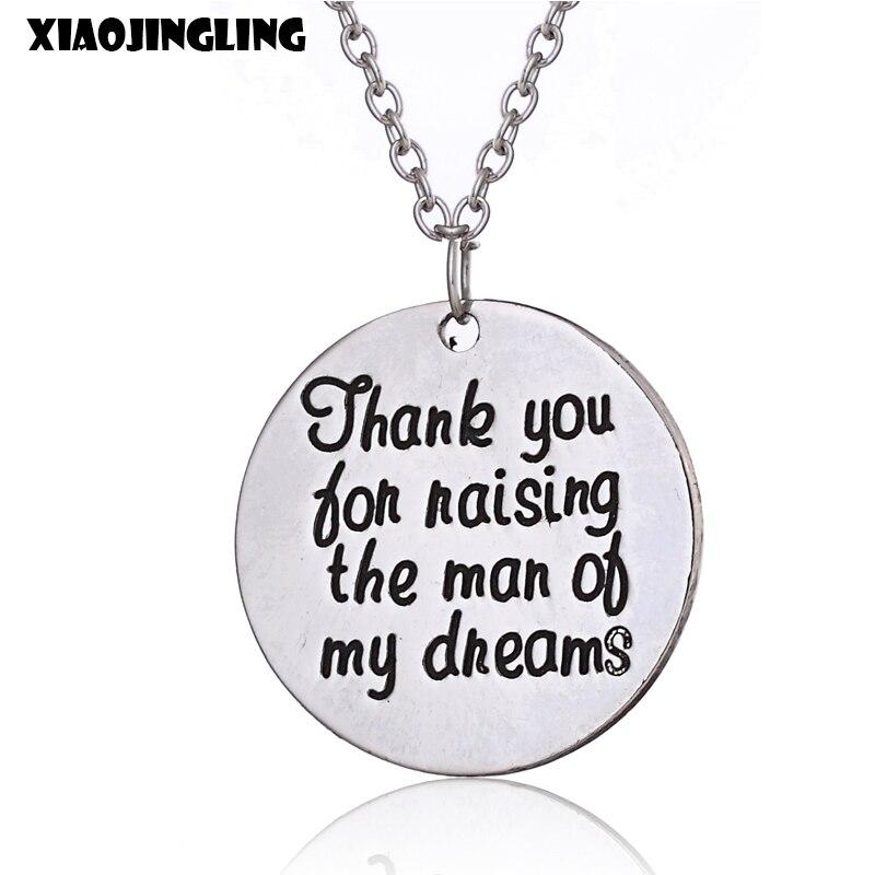 XIAOJINGLING New Fashion Necklaces & Pendant Thank