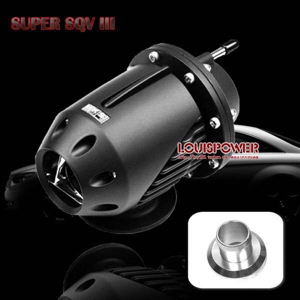 hot SQV3 relief valve / pressure relief valve turbo converted three generations of black / turbine discharge valve