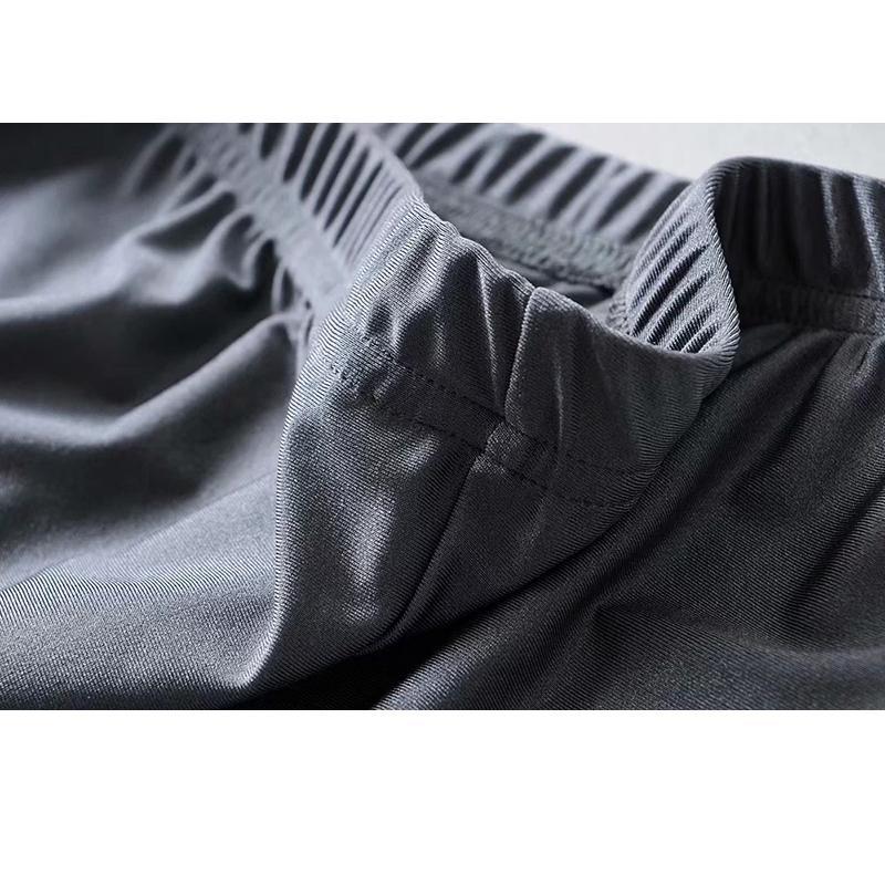 Image 5 - Reflective shorts women high waist shorts summer punk sweatpants biker shorts neon green orange Elastic waist black shorts-in Shorts from Women's Clothing