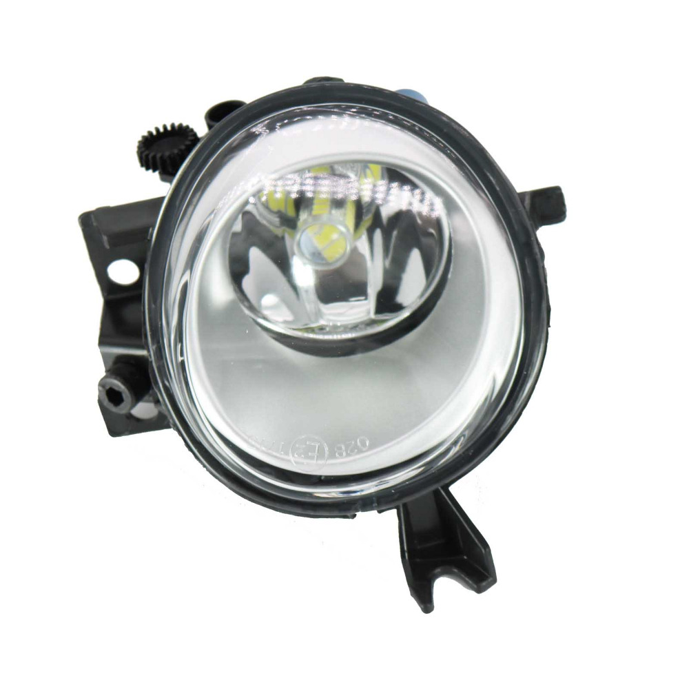 Car Styling LED Light For VW Touareg 2003 2004 2005 2006 2007 Right Side LED Front Bumper Fog Lamp Fog Light With Bulb right side front fog light headlight for audi a3 s3 s line a4 b7 2004 2005 2006 2007 2008 oem 8e0941700 car accessory p318 r