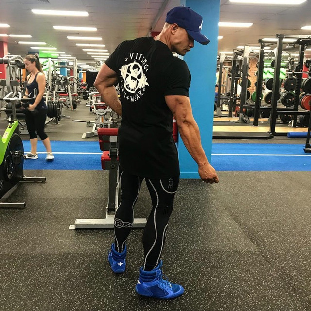 VIKING Gyms T shirt Crossfit Brand Clothing Fitness T-shirt compression Short Sleeve Tshirt Bodybuilding Workout Tee-shirt Plus 3