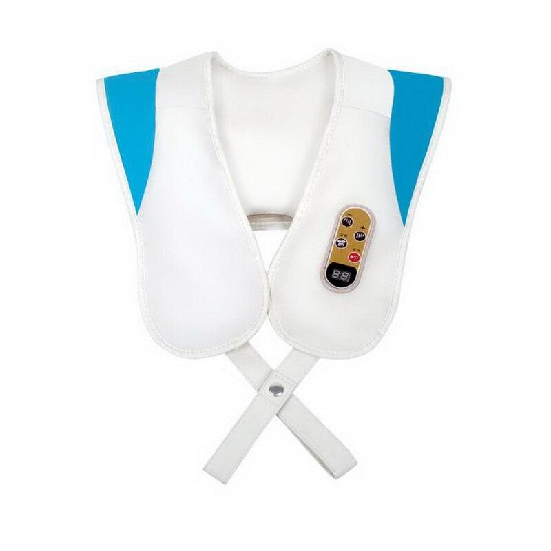 120718/Neck Massager Bumping Knocking Knee Neck Waist Shoulder Shot Massage Shawl/Built-in overheat protection  neck