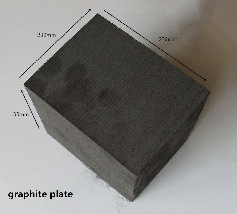 230x230x30mm Graphite Plates  for Diamand Sintering Mould /Graphite Sintering Plate /graphite blade 500x600x3mm flexible graphite paper flexible graphite coil ultra thin graphite paper