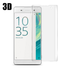 MCMEME For Sony Xperia Xa 3D Full Cover Screen Protector Electroplated Ultra-thin 9H Tempered Glass For Sony Xperia Xa Film смартфон sony xperia xa ultra золотой лайм f3211ru n