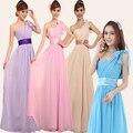 Clearance item 2017 bride plus size XXXXL one shoulder bridesmaid dress long banquet dress chiffon  party dress