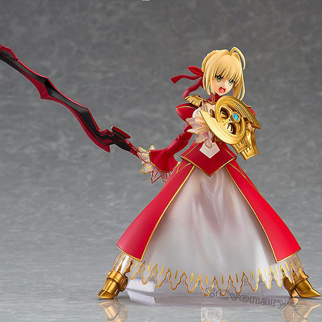 Fate Stay night Fate Saber NERO CLAUDIUS BJD Figure Model Toys Figma 370 2