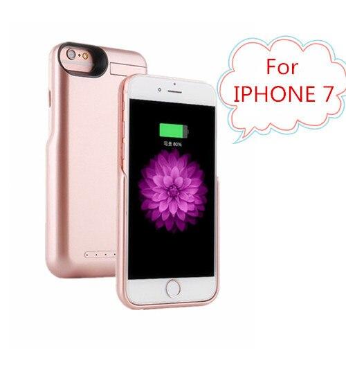 5000 мАч Power Bank Чехол Для IPHONE 7 Телефон случаях Внешняя Батарея пакет Зарядное Устройство Резервного Копирования Чехол Для iPhone 7 Батарея Питания Чехол