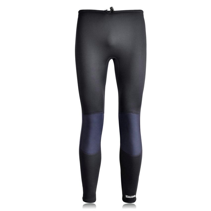 Nedves nadrág férfiak és nők számára 3 mm-es neoprén szuper nadrágok szörfözéshez úszás búvárkodás Ankelhosszú nadrág