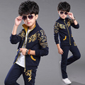2016 new children's clothing boys spring suit children Korean version of spring big virgin piece movement