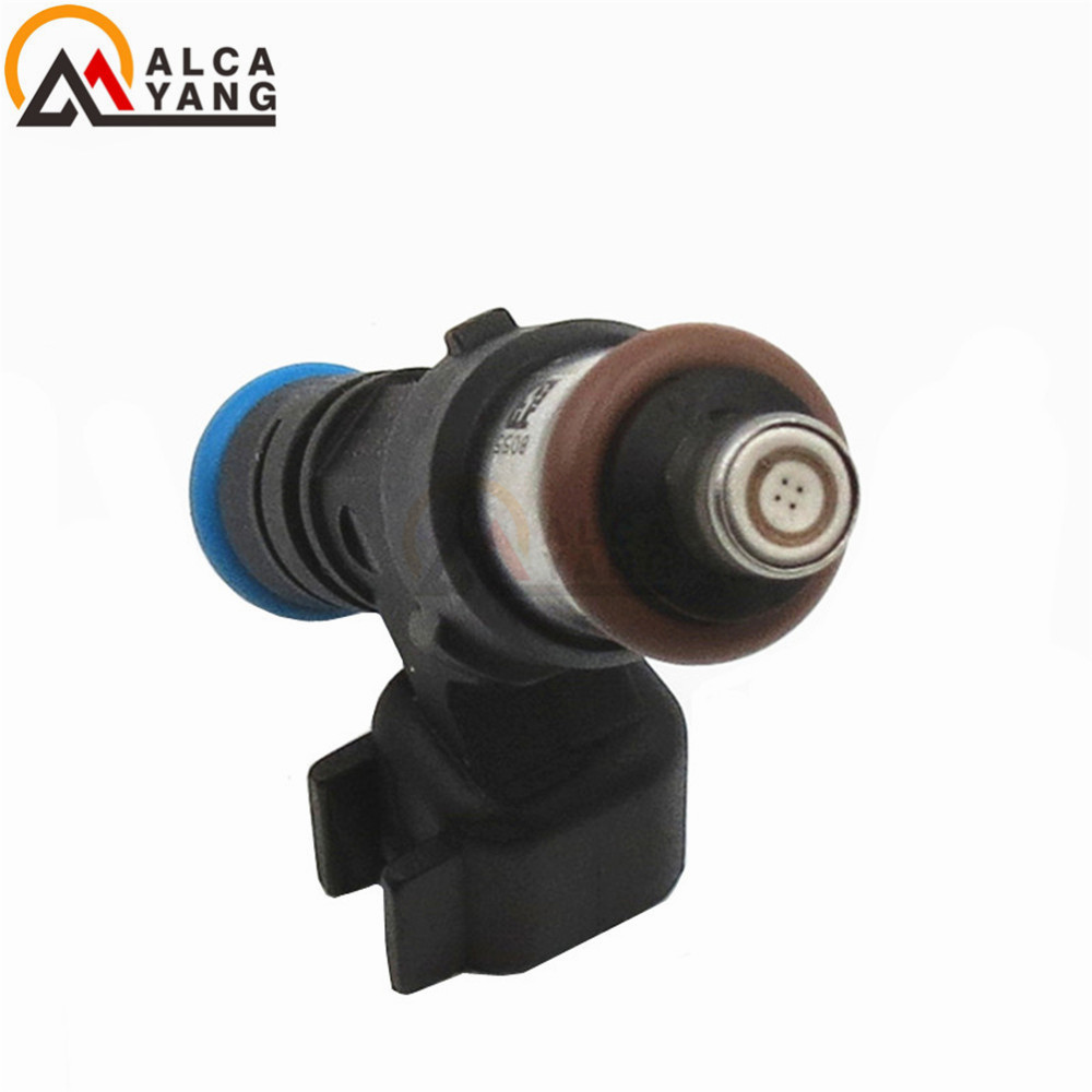 6PCS 100% 0280158055 Fuel injector for GMC Ford Explorer Mustang Ranger Mazda B4000 Mercury Mountaineer for Land Rover