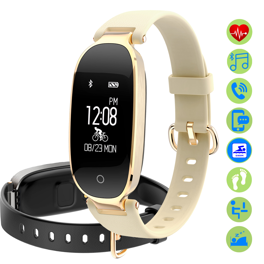 ZUCOOR Smart Bracelet Fitness Pulse Band Electronics Watch RB88 Mens Bracelets Heart Rate Monitor Pulseira Pulsera Inteligente
