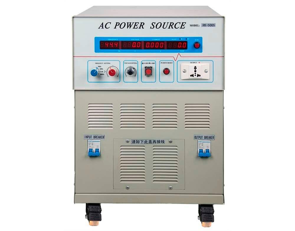Rek Rk5005 Ac Variable Frequency Power Supply 5000va