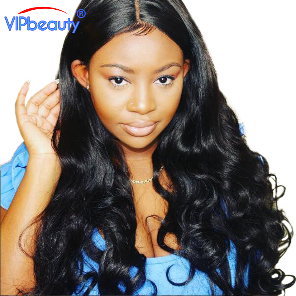 Vip beauty Brazilian Body Wave Human Hair Bundles 1 Piece Non Remy Hair Extensions Natural Color 1B 10-28 Inch Free Shipping