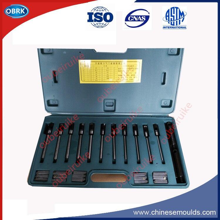 Dia.22-63mm outils de réparation d'anneau de siège de soupape Kit de coupe de plante unique pour toutes les voitures