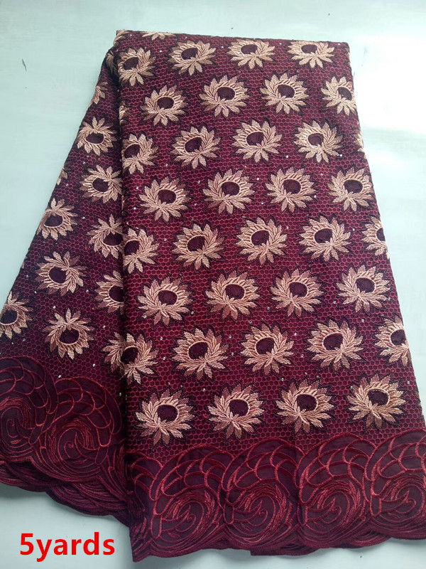 Swiss Voile Lace In Switzerland High Quality Embroidery cotton lace 2018 African Swiss Voile Lace Fabric ginose233