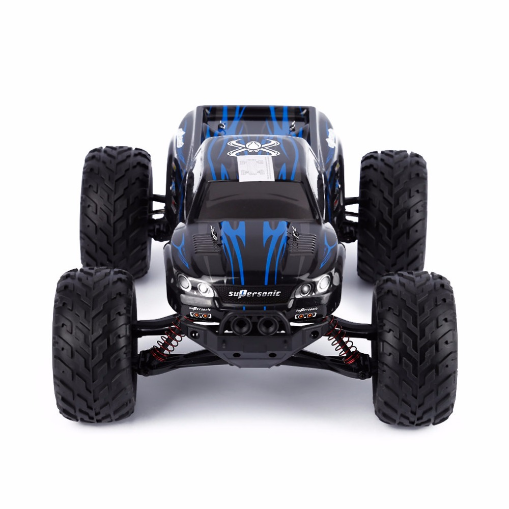 NZACE Blue 2WD 1/12 45km/h Off Road Remote Control Brush Truck for GPTOYS S911