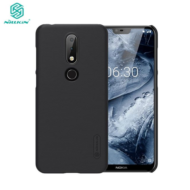 size 40 4f48c 2f4d8 US $7.99 20% OFF|sFor Nokia X6 Case Nillkin Frosted Shield PC Hard Back  Cover Case For Nokia X6 / 6.1 Plus-in Fitted Cases from Cellphones & ...