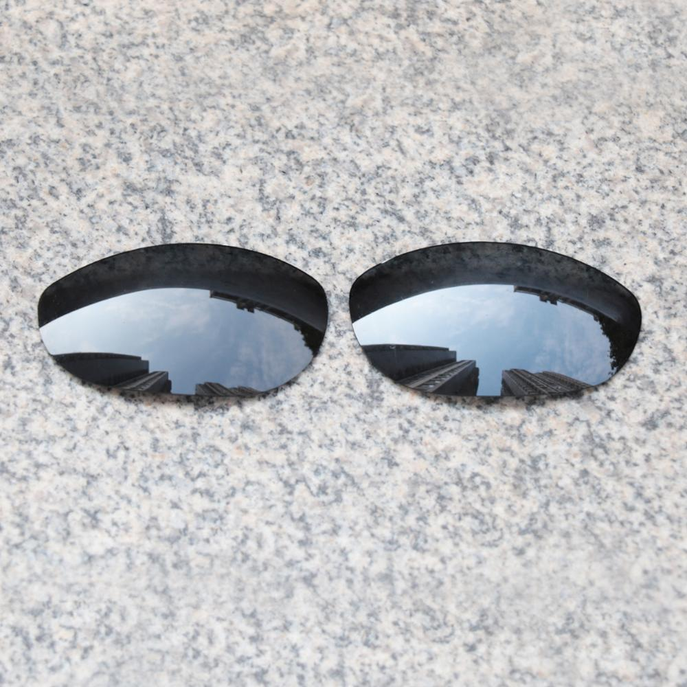E.O.S Polarized Enhanced Replacement Lenses for Oakley Monster Dog Sunglasses - Black Polarized