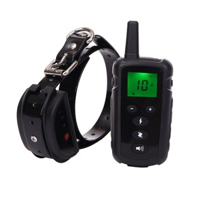 Image 5 - 500m pet dog training collar electric shock collar for dogs waterproof remote control dog device charging LCD Display