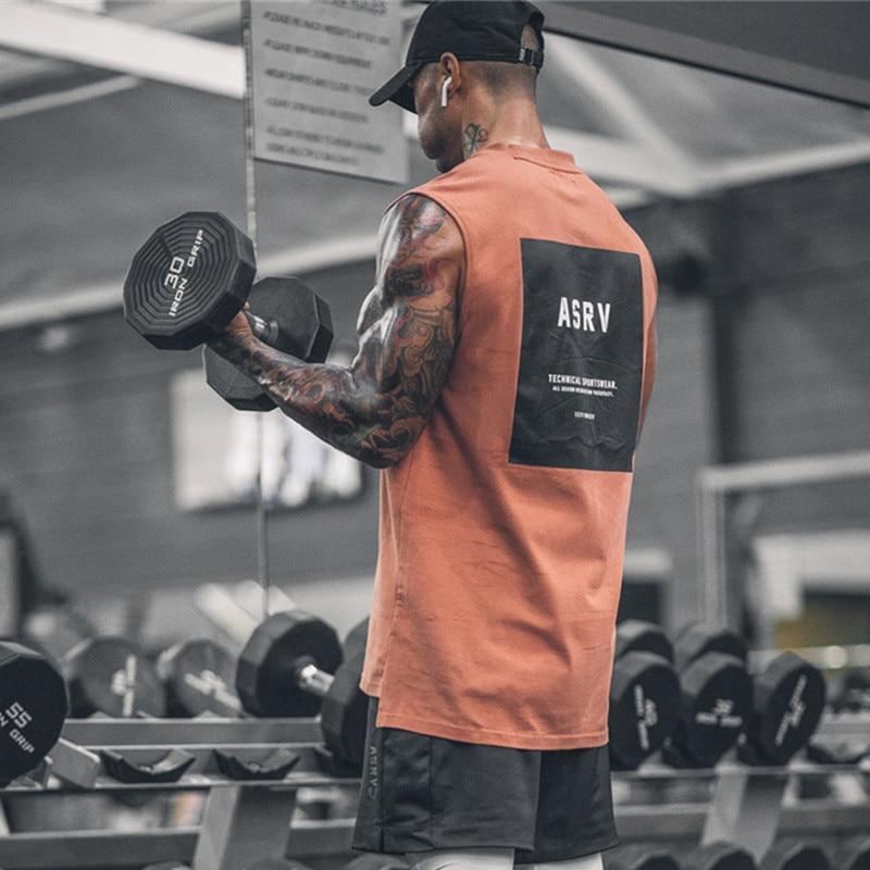 2019 Gyms Workout Sleeveless Shirt Tank Top Men Bodybuilding Clothing Fitness Mens Sportwear Vests Muscle Men Tank Tops