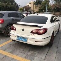 R Style Carbon fiber rear roof spoiler lip wings for Volkswagen VW Passat CC Sandard 2009 2016