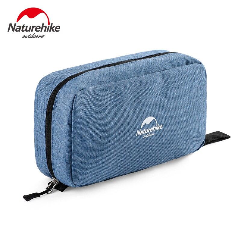 Naturehike Waterproof Swimming Storage Bag Men Portable Laundry Women Cosmetic Bag 4 Colors Make Up Set Bags