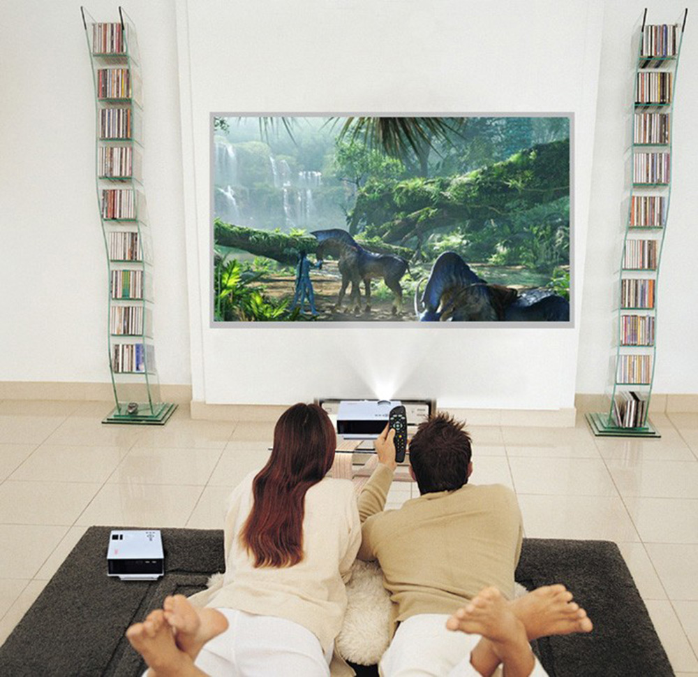UNIC UC40+ Portable Projector Mini LED Home Cinema Projector USB SD ...