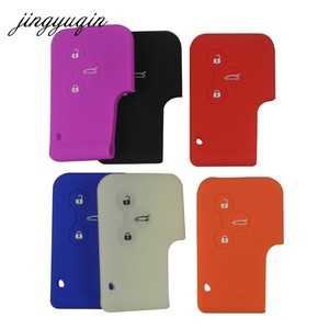 Image 2 - Jingyuqin porte cartes 3 boutons en Silicone