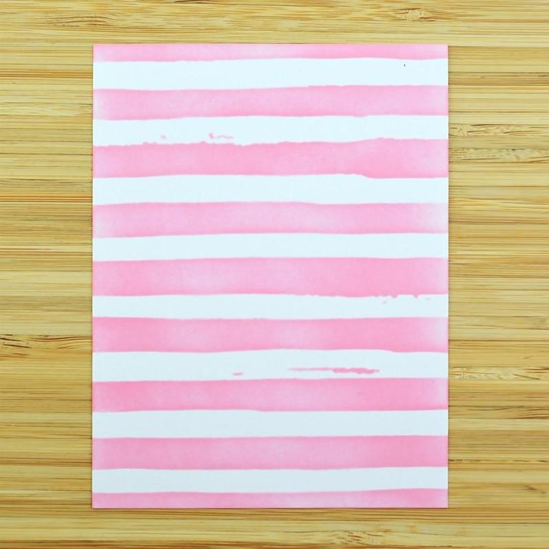 Stripes Frame Stencil For Diy Scrapbooking Decorative