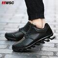 CEMM Moda Negro de China Popular Hoja de Resorte Zapatos PP Hombres Absorción de Choque de Aire Casual Chaussure Mbt Zapatos