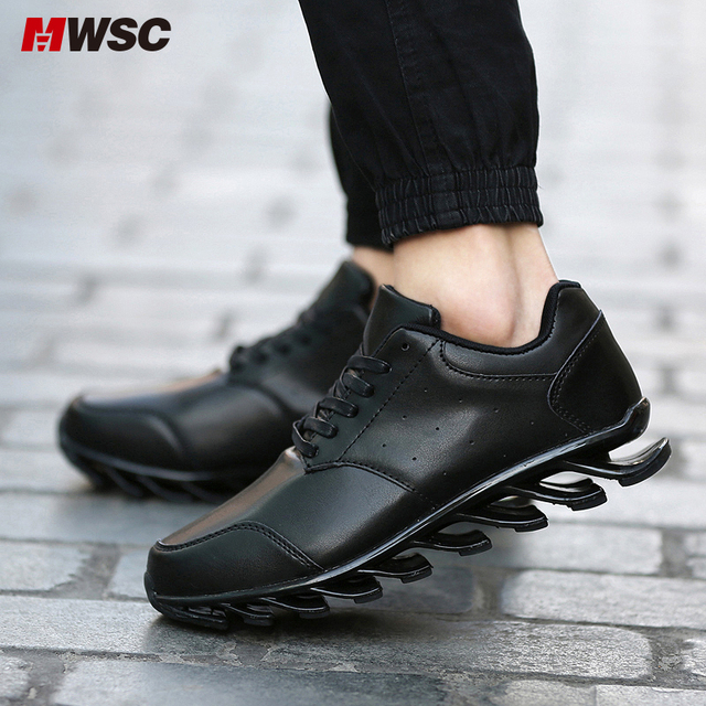 MWSC Fashion Black China Popular Spring Blade PP Shoes Men Air Shock Absorption Casual Chaussure Shoes Zapatos