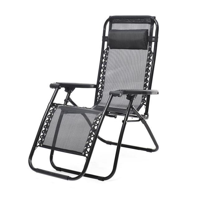 Gravidade Zero cadeira de Salão Cadeira de Praia ao ar livre Pátio Quintal Piscina Cadeira Dobrável Wonderful35 % 2.03