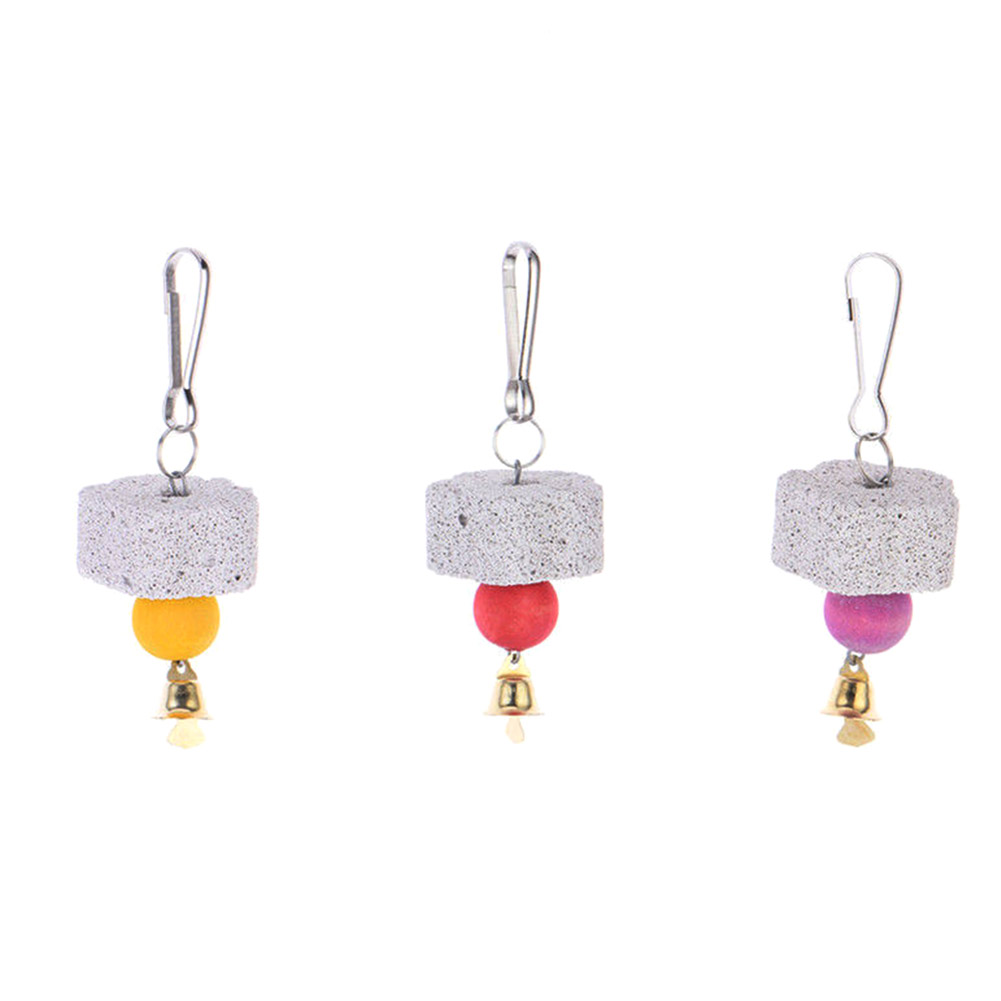 Hot Sale!Cool And Practical Pratical Parrot Mouth Grinding Stone Molars Hanging String Sale
