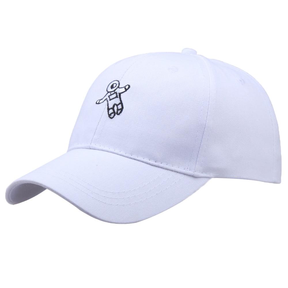 2019 Unisex Fashion Hat Astronaut Pattern Emberoidery   Baseball   Hats   Cap   Men Women Cotton Blend Casual Adjustable   Caps   10Jan 17