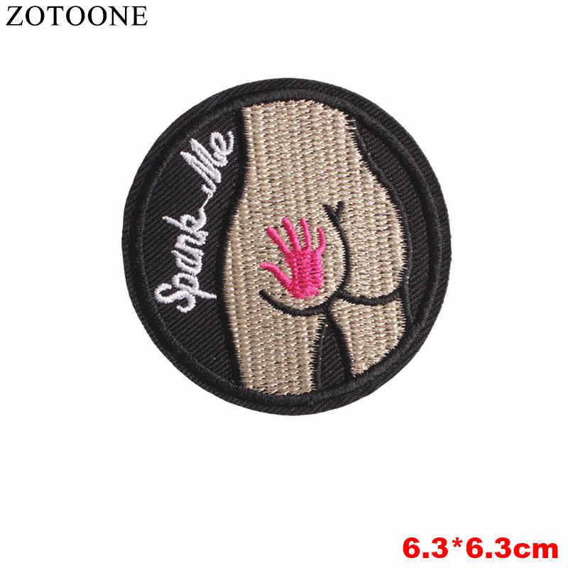 Zotoone remendos de lantejoulas gato abacaxi punk carta unicórnio bordado remendos para roupas ferro no remendo applique diy acessório b