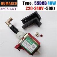 3pcs/lot OUMAXZO 2000W 3000W Fog Smoke machine oil pump 55DCB, 48W 220V~240V or 110V~120V