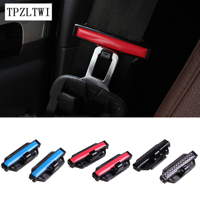 TPZLTWI For Renault Megane 2 3 Duster Logan Clio Captur Sandero Laguna 2 1 Fluence Scenic Kadjar Trafic Car Safety Belt Clip renault megane coupe 1999