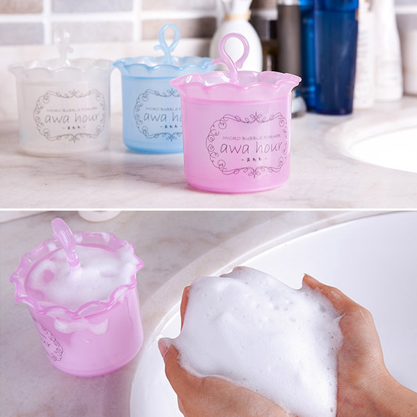 Hot Sale Face Clean Tool Cleanser Foam Maker Cup Convenient Bubble Foamer Home Travel Use