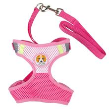 Charming dog Harness with Leash Rope