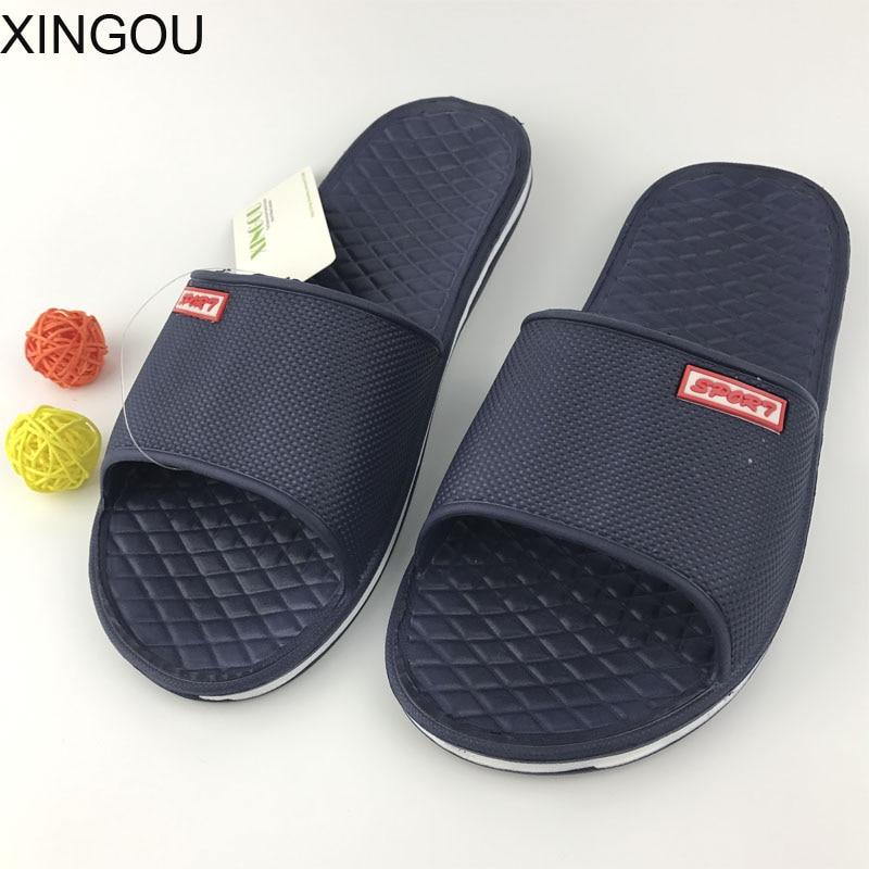 HOT !New EVA summer slippers home indoor interior floor flat sandals and slippers bathroom slippers non-slip soles Slides