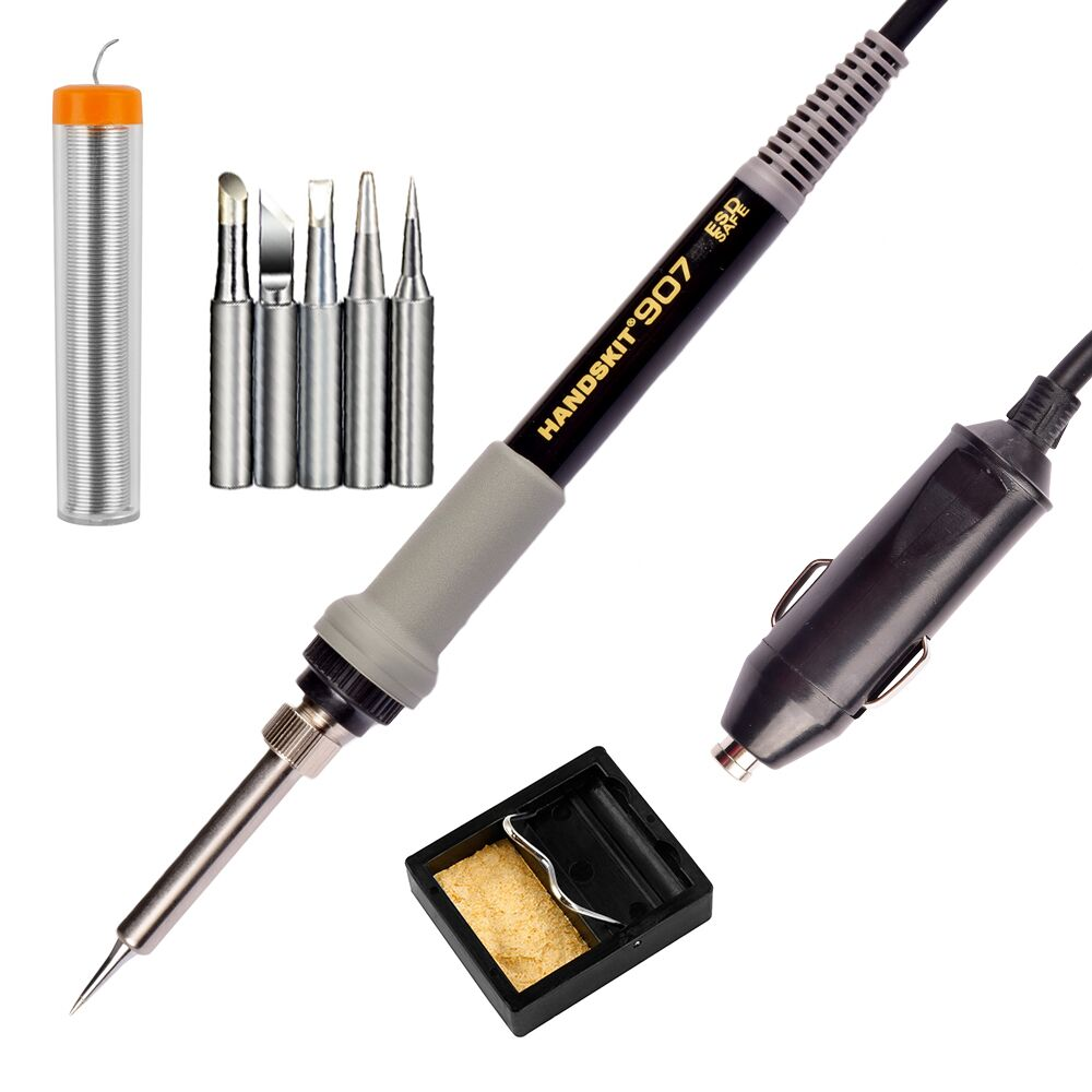 Handskit Soldering Iron 12V DC Electric Heat Soldering Iron Welding Electric Soldering Welding Tool welding Iron Free Shipping