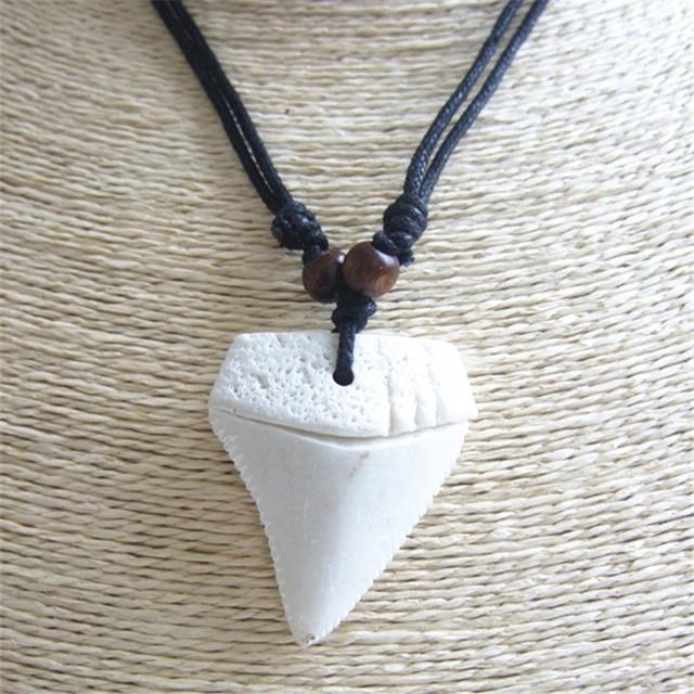 12pcs fake yak bone white big shark teeth charms jewelry amulet 12pcs fake yak bone white big shark teeth charms jewelry amulet wax cord necklace pendants diy aloadofball Gallery