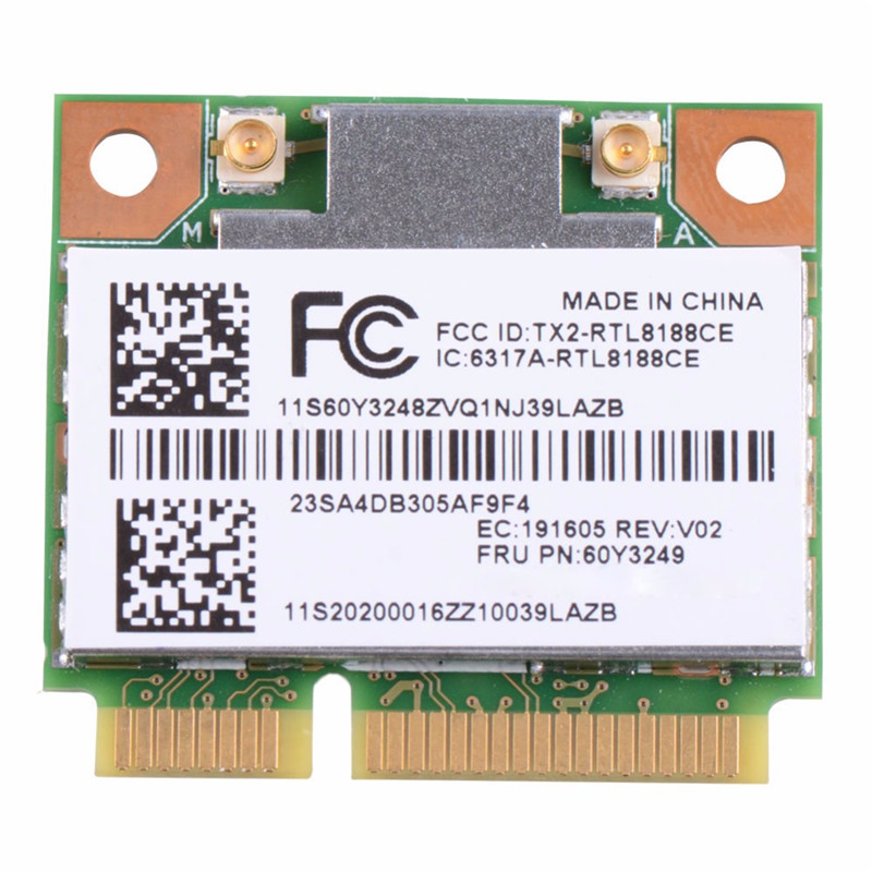 Network Cards Networking Ssea Wholesale New For Intel Wireless-n 1000 Half Mini Pci-e Card For Ibm Lenovo E40 Sl410 T420 T430 T510 Y460 Y470 60y3241