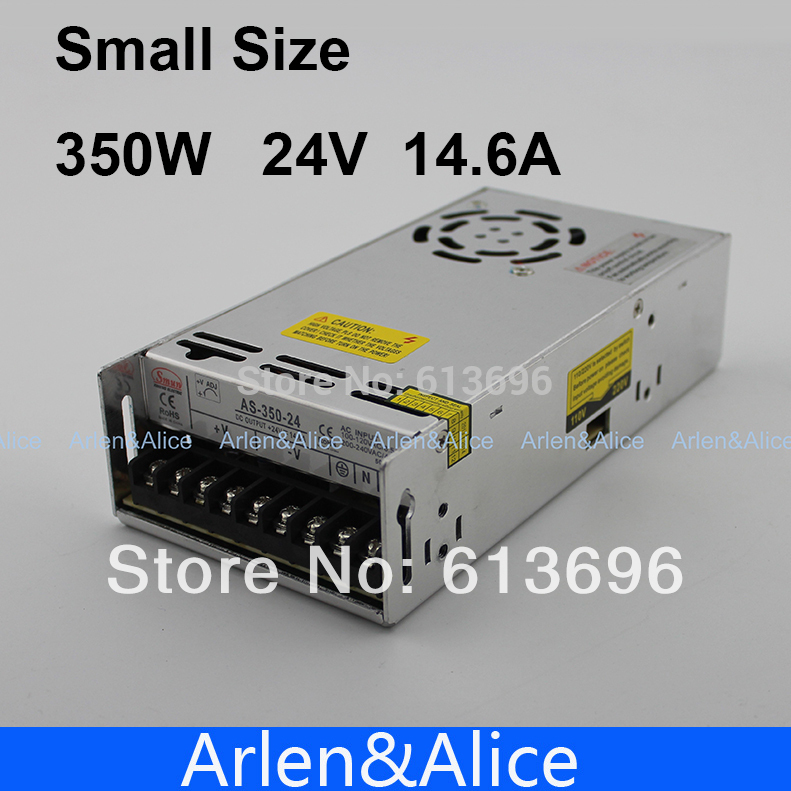 350W 24V 14.6A  Small Volume Single Output Switching power supply for LED Strip light