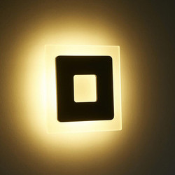 18w Led Acrylic Wall <font><b>Lamp</b></font> Aluminum Wall Sconce Decorative Living Room Bedroom Corridor Patio Wall Lights AC85-265V BL09