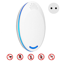 1Pcs Plug-In Ultrasonic Pest Repeller Ultrasonic Insect Electronic Control Repellent Mouse Mosquito Bug Pest Rejector Mosquito